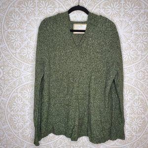 Lane Bryant Green Sweater Hoodie 22/24